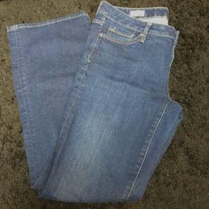 Gap Boot Leg Denim Jeans Size: 32r